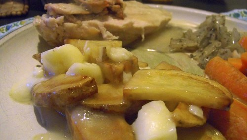 Chicken and Poutine