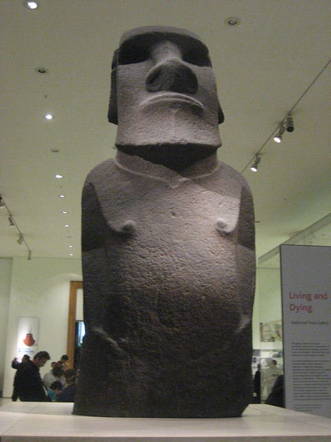 Rapa Nui Moai at the British Museum