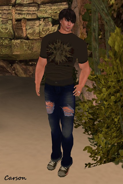[ B!ASTA ] GREEDY MUTANT MOTHS Jeans & shirt for D2B3