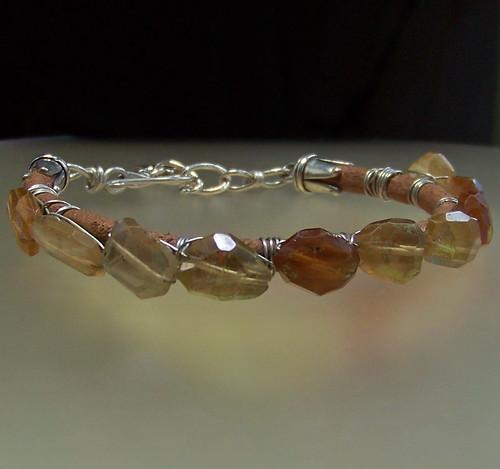 Love Strong Gemstone Bracelet by WETCLOUD