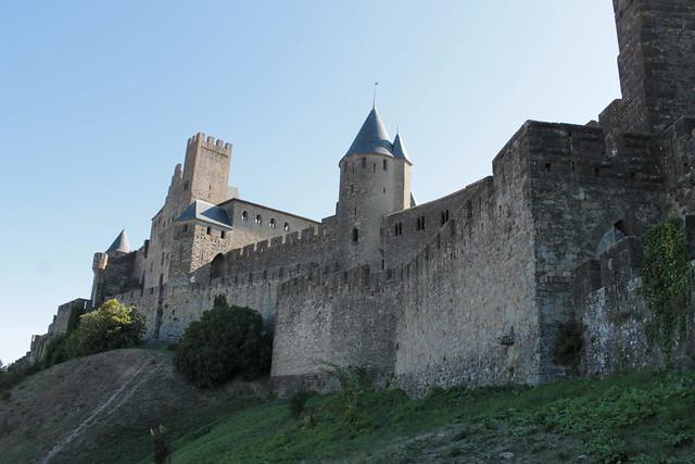 Arrière du château comtal