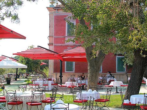Villa Rosina terrace