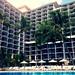 The Orchid Pool at the Halekulani Hotel