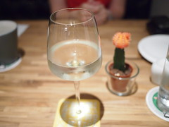 Saint Clair Sauvignon Blanc, Othello's Cafe Bar, Greenwood Avenue