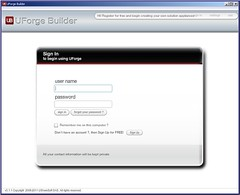 adobe air uforge builder app