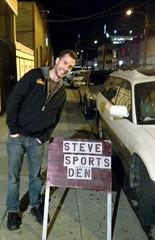 Steve Sports Den
