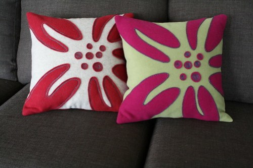 Lily Pillow Covers - Featured in Stitch!