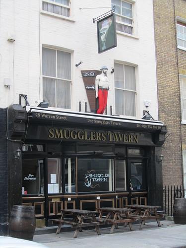 Smugglers Tavern, Warren Street