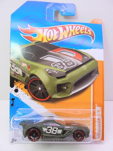 hot wheels scorcher green (1)