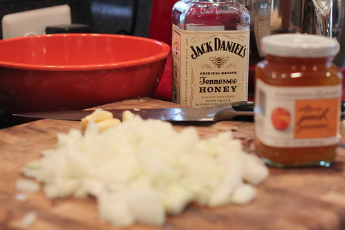 peach bourbon chicken jd