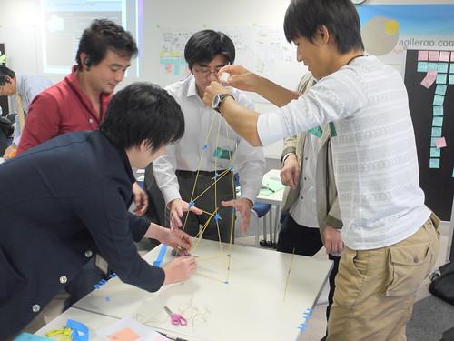 チームとタワーを創造せよ!マシュマロチャレンジでチームビルディング #sgt2011 #CSPO (1/2)