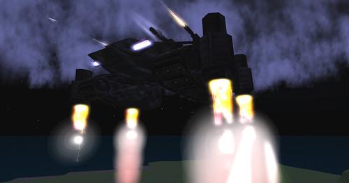 Carmageddon Tank 5, aloft