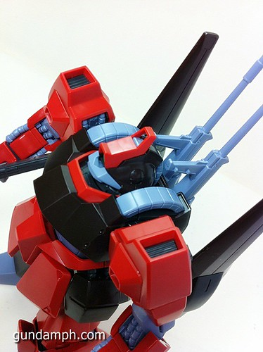MG Rick Dias Quattro Custom RED Review OOB Build (50)