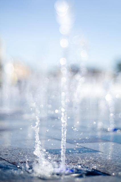 Bokeh Fountains again