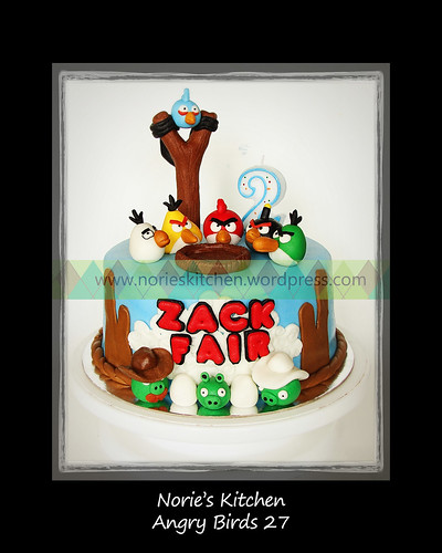 Norie's Kitchen - Angry Birds Cake 27 by Norie's Kitchen