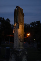 Pall-draped Column