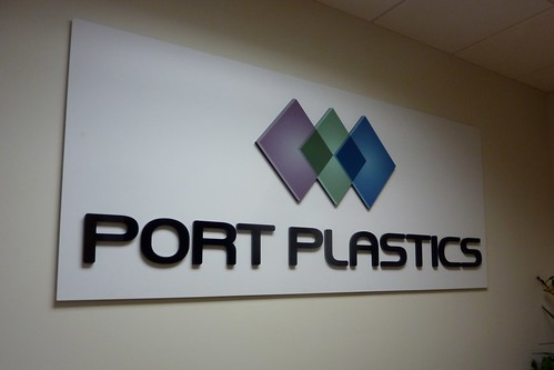 Port Plastics - reception area