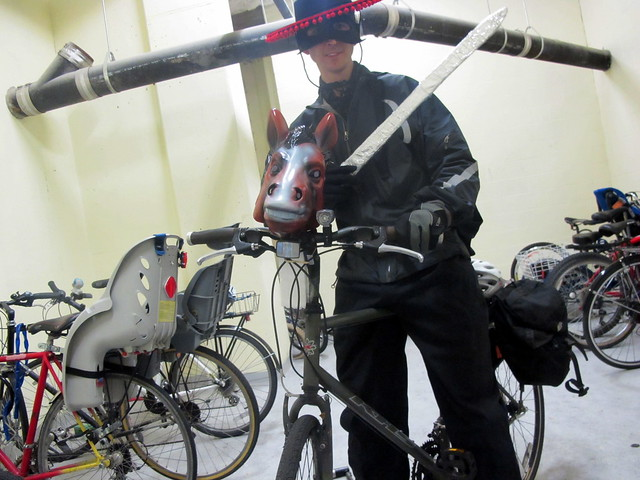 Zorro Bike Costume