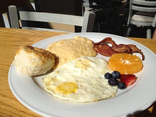 Watercolor southern breakfast