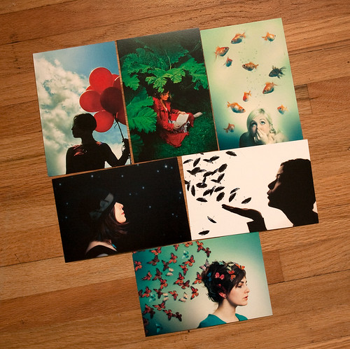 Imaginary Girl postcards-2