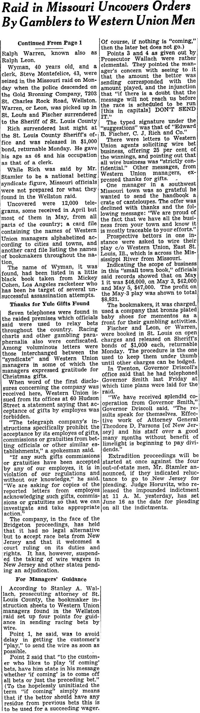 2WYMAN,NYTimes June 7, 1950