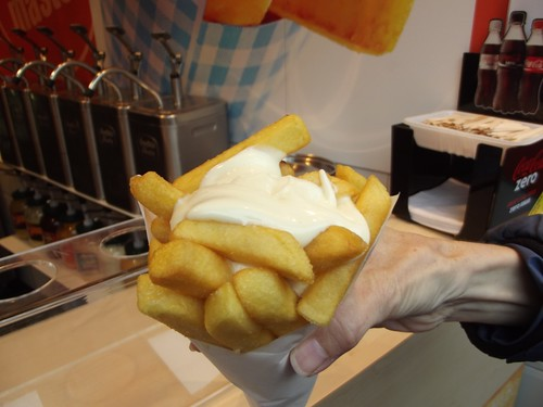 belgian fries w/mayo