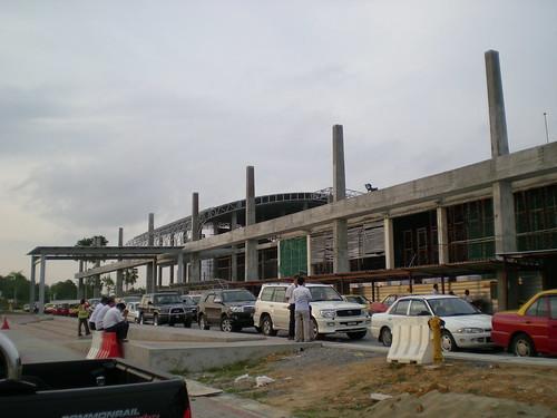 Sibu airport reconstruction 1