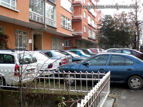 Parkolás törökösen