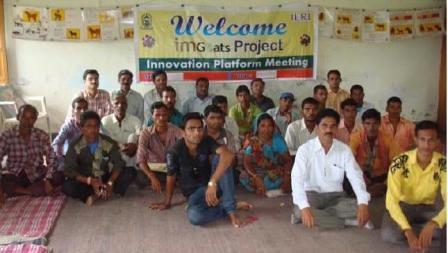 The first imgoats Jhadol-Kanthariya innovation platform meeting