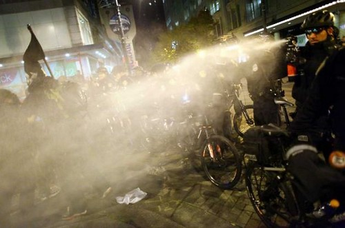 Seattle police pepperspray 2