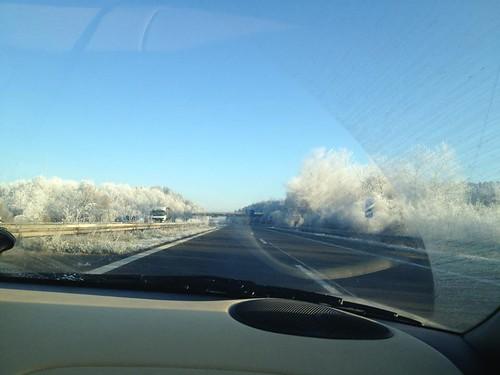 17.11.2011 Heute auf dem Weg nach Stuttgart