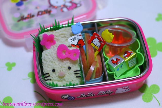 Hello Kitty and My Melody Bento