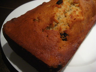 Monique's Banana & Raisin Cake