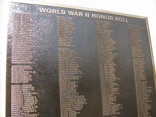 World War II Honor Roll