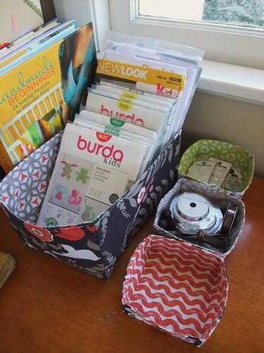 Fabric Baskets 2