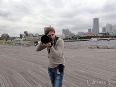 Windy day Yokohama, 強風の横浜