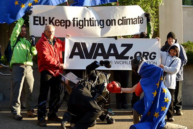 EU: keep fighting on climate (via Avaaz)