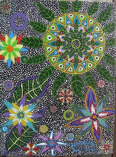 Ayahuasca Visionary Art by Howard G Charing