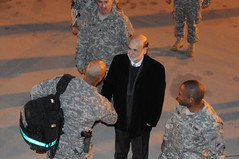Federal Reserve chairman visits Fort Bliss [Im...