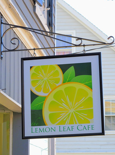 lemon leaf sign
