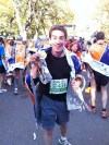 Just finished running the 2011 NYC Marathon in 03:53:28!! That was great!