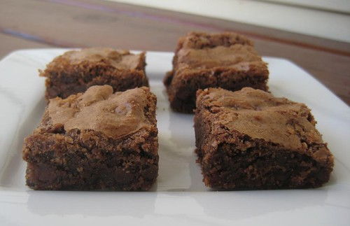 brownies, gluten-free
