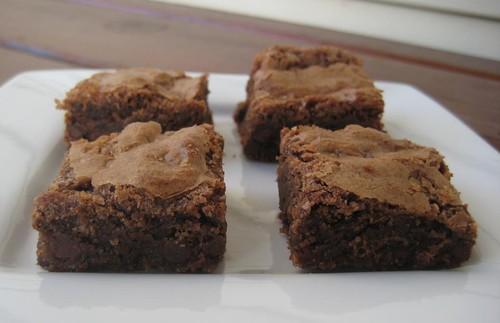 brownies, gluten-free