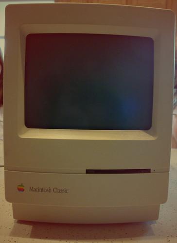 Old School Macintosh Classic (Found)