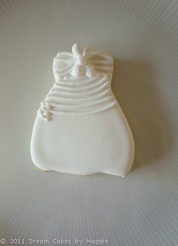 Wedding Dress Cookie