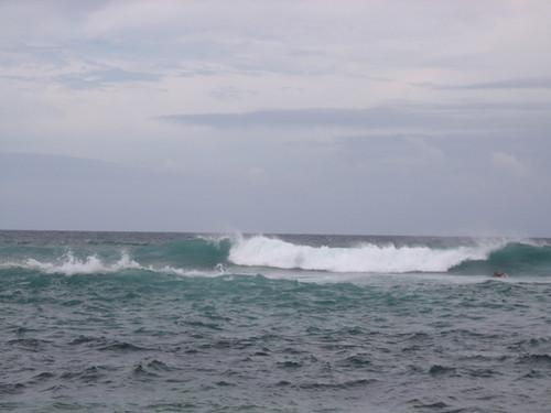 Surfers at Hookipa