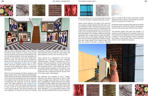 Prim Perfect: Issue 37 - October 2011: Pathfinders