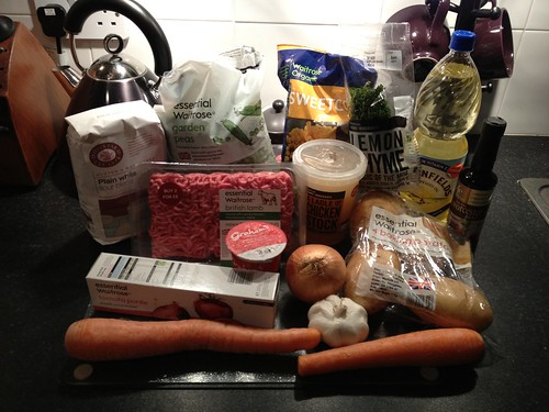 shepherd's pie, ingredients