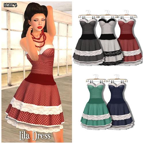 Vintage Fair Lila Dress