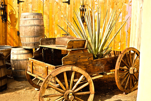 The Wagon (HDR) by robmercier00